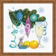 """Набор для вышивания крестом Риолис """"С Новым годом!"""""""