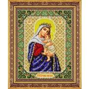"""Набор для вышивания бисером Паутинка """"Пресвятая Богородица Отчаянных единая Надежда"""""""