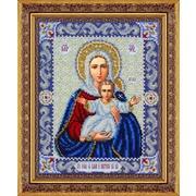"""Набор для вышивания бисером Паутинка """"Пресвятая Богородица Леушинская"""""""