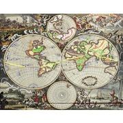 """Канва/ткань с нанесенным рисунком Матрёнин посад """"Пиратский план"""""""