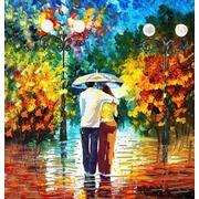 """Канва/ткань с нанесенным рисунком Конёк """"Под дождем"""""""