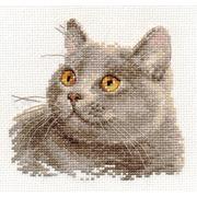 """Набор для вышивания крестом Алиса """"Британский кот"""""""