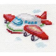 """Набор для вышивания крестом Алиса """"Самолетик"""""""