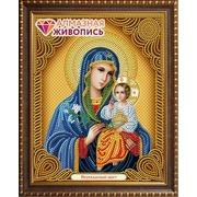 """Набор для выкладывания мозаики Алмазная живопись """"Икона Богородица Неувядаемый Цвет"""""""