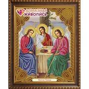 """Набор для выкладывания мозаики Алмазная живопись """"Икона Святая Троица"""""""