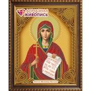 """Набор для выкладывания мозаики Алмазная живопись """"Икона Святая мученица Наталия"""""""