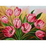 """Набор для выкладывания мозаики Вышиваем бисером """"Тюльпаны"""""""