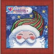 """Набор для выкладывания мозаики Алмазная живопись """"Портрет Деда Мороза"""""""