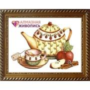 """Набор для выкладывания мозаики Алмазная живопись """"Чай с корицей"""""""