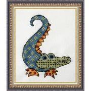 """Набор для вышивания крестом NeoCraft """"Квилтовый крокодильчик"""""""