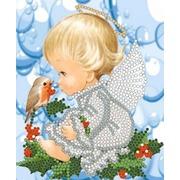"""Канва/ткань с нанесенным рисунком Конёк """"Моя ягодка"""""""