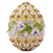 """Бисероплетение Риолис """"Яйцо. Подснежники"""""""