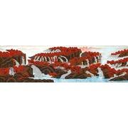 """Канва/ткань с нанесенным рисунком Конёк """"Горный водопад"""""""