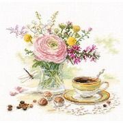 """Набор для вышивания крестом Алиса """"Утренний кофе"""""""