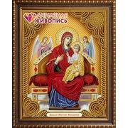 """Набор для выкладывания мозаики Алмазная живопись """"Икона Божией Матери Всецарица"""""""