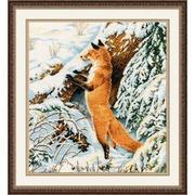 """Набор для вышивания крестом Овен """"Рыжая охотница"""""""