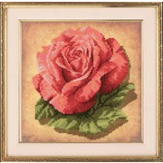 """Набор для вышивания крестом Риолис """"Роза"""