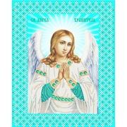 """Канва/ткань с нанесенным рисунком Конёк """"Ангел Хранитель"""""""