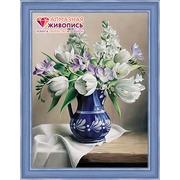 """Набор для выкладывания мозаики Алмазная живопись """"Белые тюльпаны"""""""