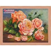 """Набор для выкладывания мозаики Алмазная живопись """"Ароматные розы"""""""