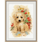 """Набор для вышивания крестом Овен """"Мой щенок"""""""