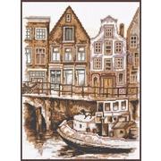 """Набор для вышивания крестом Палитра """"Набережная Амстердама"""""""