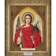 """Канва/ткань с нанесенным рисунком МОСФА """"Икона Ангел Хранитель"""""""