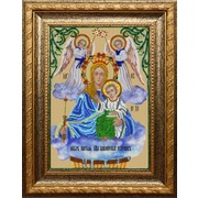 """Набор для вышивания бисером Вышиваем бисером """"Икона Пресвятой Богородицы Живоносный источник"""""""