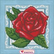 """Набор для выкладывания мозаики Алмазная живопись """"Роза в кружевах"""""""