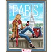 """Набор для выкладывания мозаики Алмазная живопись """"Утро в Париже"""""""