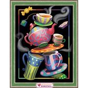 """Набор для выкладывания мозаики Алмазная живопись """"Чайная фантазия"""""""