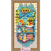 """Набор для выкладывания мозаики Алмазная живопись """"Полочка с лимонами"""""""
