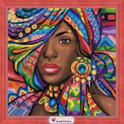 """Набор для выкладывания мозаики Алмазная живопись """"Гана"""""""